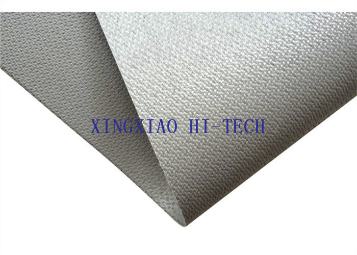 Gray Color Silicone Coated Fireproof Fiberglass Fabric High Insulation Performance
